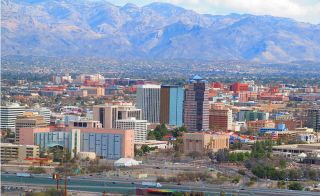 downtown Tucson skyline