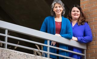 ASU professors Mary Davis and Kathryn Lemery-Chalfant