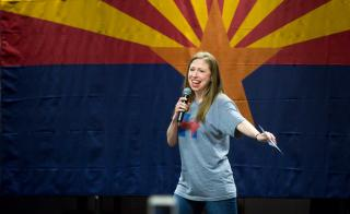 Chelsea Clinton speaks at ASU