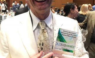 Stephen Albert Johnston AZBio Awards