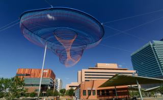 A picture of Civic Space Park and the Downtown Phoenix Campus
