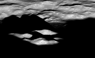Bhabha crater on the moon