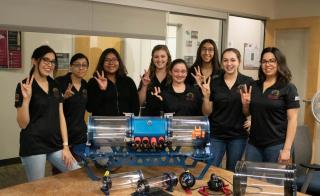 Desert WAVE team ASU Poly underwater robotics