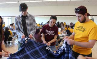Students volunteer at Devils in Disguise 2019