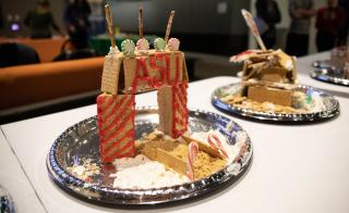 An ASU gingerbread house