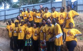 ASU's Project BOLD students at Kepler in Rwanda, Africa.