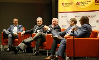 SLB Advisory Board members speak on Globalization of Sport panel