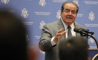 A photograph of Supreme Court Justice Antonin Scalia