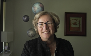 Dean of social sciences at The College Elizabeth Wentz has pioneered the use ofGeographical Information Systems, remote sensing and space-time analysis to decipher urban environments and our place within them.