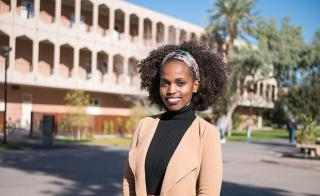 Marglory Moshi, ASU psychology student