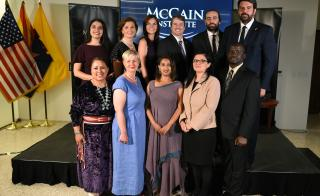 McCain Institute Next Generation Leaders 2019 Cohort