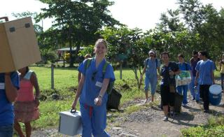 ASU students in Nicaragua