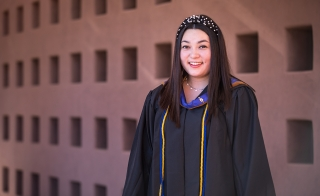 Sarah Booth graduated with honors from Thunderbird's 4+1 Master of Global Management program, earning a bachelor's degree and a master's degree in five years