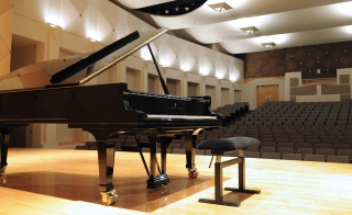 Piano in Katzin Concert Hall