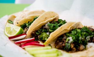 photo of street tacos