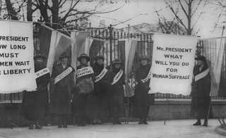 Women's Suffrage - White House Picket