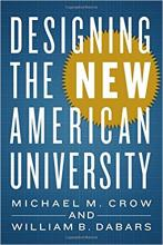 """""""Designing the New American University"""" cover"""
