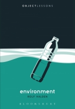 book cover illustrating plastic water bottle in water