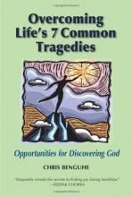 """Cover of """"Overcoming Life's 7 Common Tragedies"""" featuring an illustration of a man reaching for a star"""