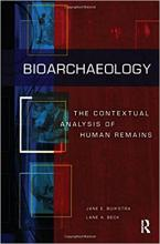 Bioarchaeology book cover image