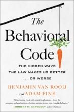 book, cover, The Behavioral Code, Adam Fine, Benjamin ven Rooij, Beacon Press, ASU, criminal justice