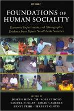 The Foundations of Human Sociality
