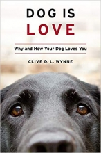 Book cover of Dog is Love by Clive Wynne