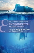 Cover of The Cambridge Companion to Environmental Humanities co-edited by Jeffrey Cohen