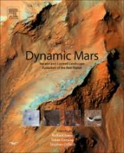 """Cover of """"Dynamic Mars"""" featuring an image of the surface of Mars"""