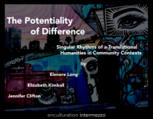Cover of The Potentiality of Difference co-written by Elenore Long and Jennifer Clifton