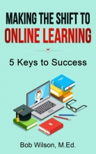 "Book cover for ""Making the Shift to Online Learning"""