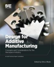 Cover for Design for Additive Manufacturing featuring metal pieces