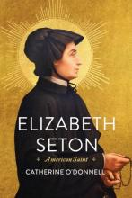 """Elizabeth Seton"" Book Cover featuring a profile of a woman"