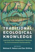 Cover of Traditional Ecological Knowledge edited by Nelson and Shilling with fish and animal design