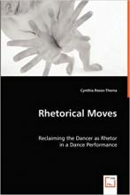 """Cover of """"Rhetorical Moves"""" featuring a man holding up his hands"""