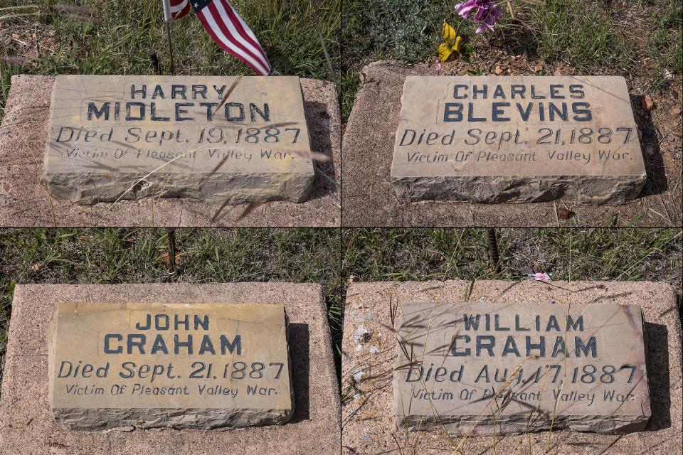 Gravesites of the Pleasant Valley War, Young, Arizona