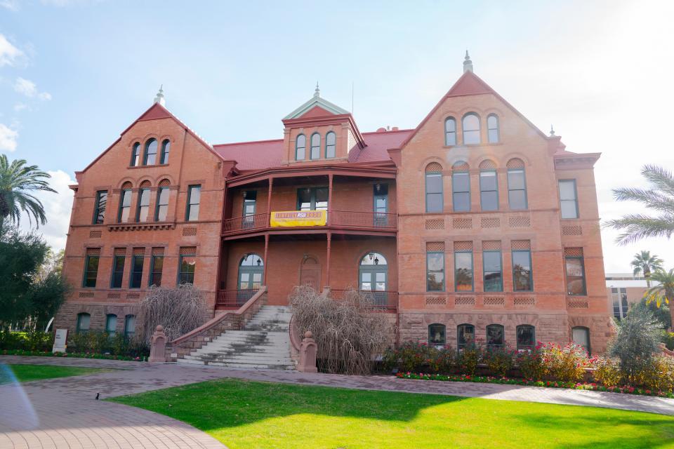 ASU Old Main Tempe campus