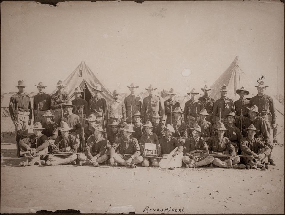 Rough Riders Troop C, San Antonio, Texas 1898