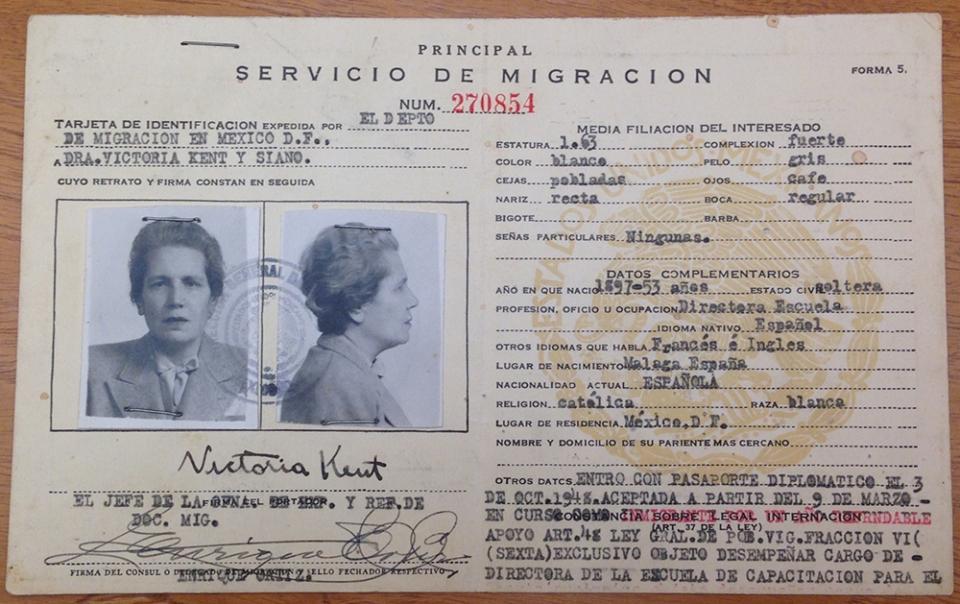 migration card