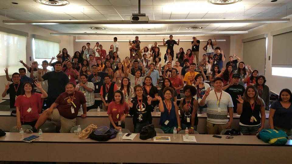 A group photo of the 2015 SPIRIT cohort