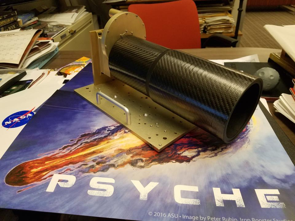 Psyche mission multispectral imager