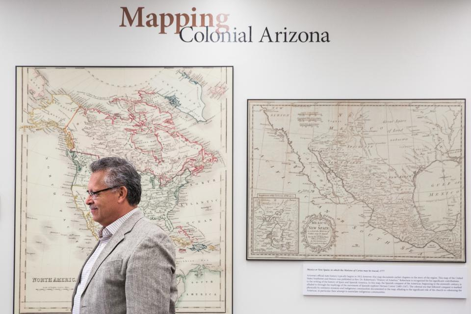Greater Arizona map exhibition