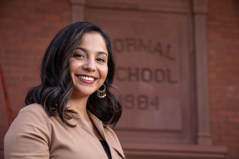 Outstanding Grad Erika Martinez Nov. 2019 ASU