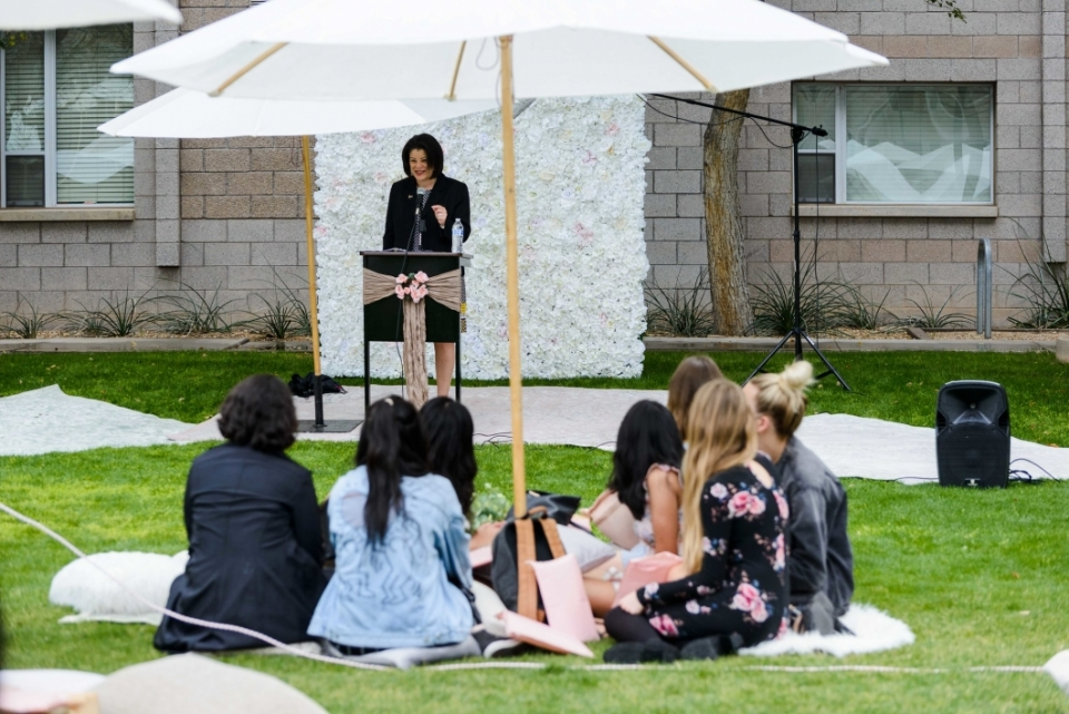 Barrett Ladies' Tea keynote speaker Cassandra Aska