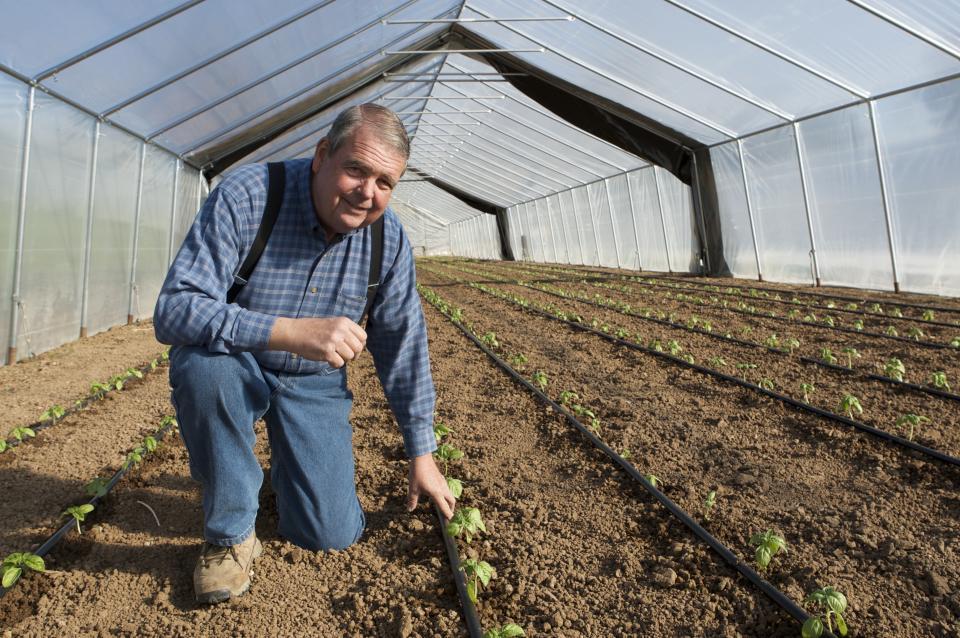 Valley farmer Bob McClendon