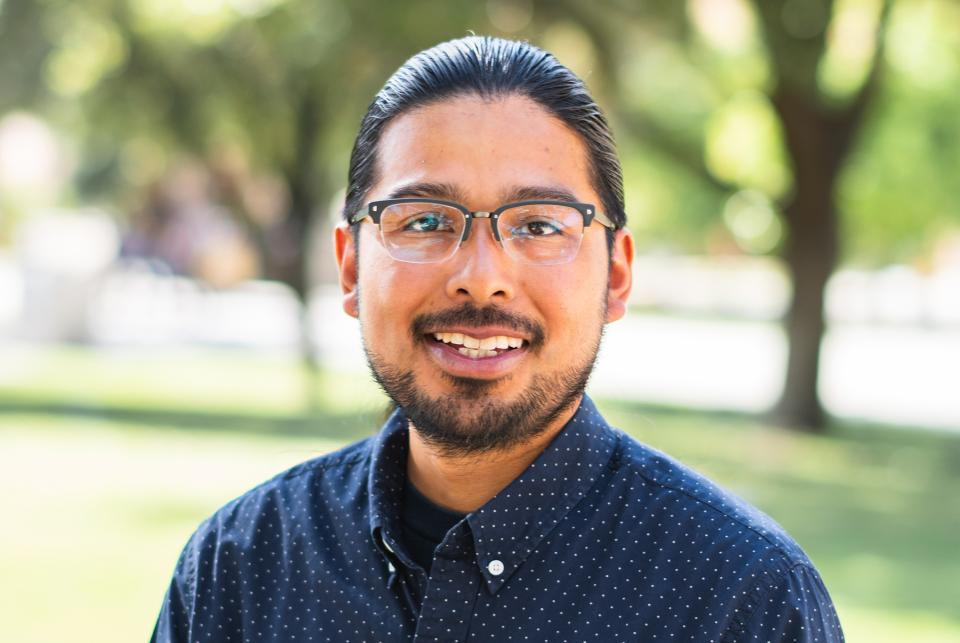 American Indian Studies program spring 2019 Dean's Medalist Alexander Soto.