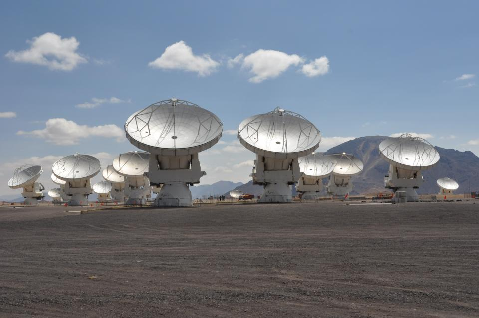 alma satellite field