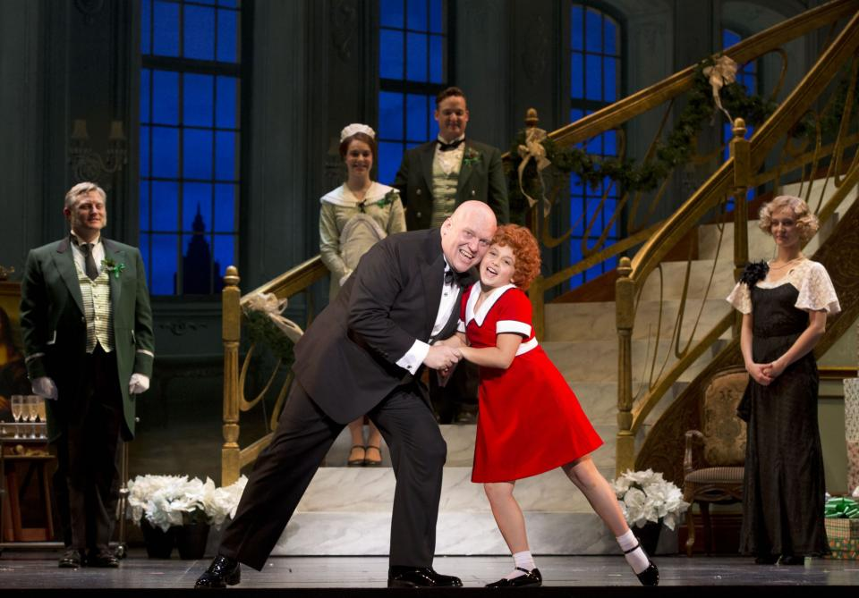 """Annie"" on Broadway."