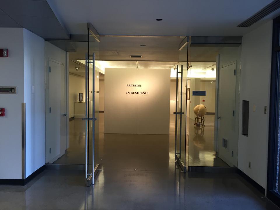 inside of renovated ASU art building