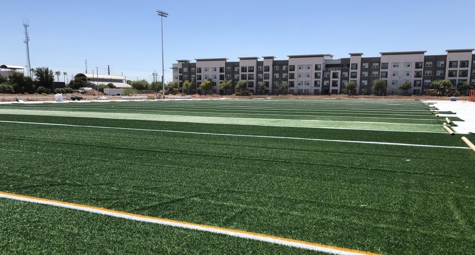 ASU athletic fields